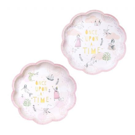 Fairy Tale Party Plate - pack of 12